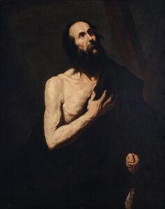 Jusepe de Ribera, 'San Andrés apóstol', Segundo cuarto del siglo XVII