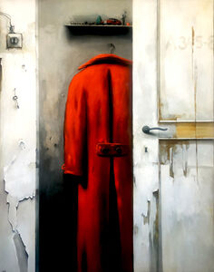 Dim Yuz, 'Red coat', 2020