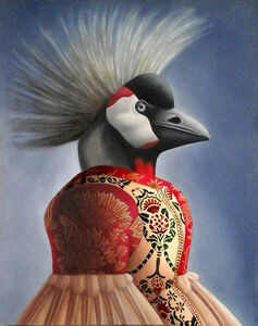 Amy Hill, 'Bird with Crown', 2019