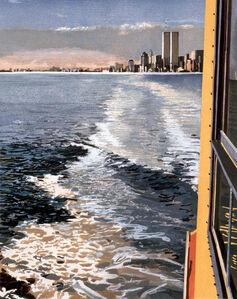 Richard Estes, 'Study VI, New York Harbor', 1997