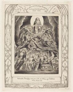 William Blake (1757-1827), 'Satan Before the Throne of God', 1825