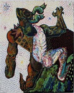 "Miroslav Pomichal, '""Courtly Love""', 2015"