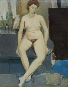Sakti Burman, 'Untitled (Nude)', c. late 1950s