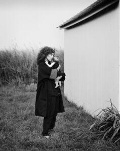 Priscilla Rattazzi, 'Jean Pagliuso and Jessie, Watermill', 1985