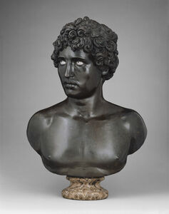 Antico, 'Bust of a Young Man', 1520