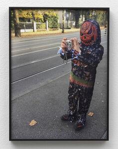Juliette Blightman, '30th October - Evie, Bern (with Leaves)', 2018