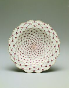 Imperial Porcelain Factory, 'Soup Plate', 1759