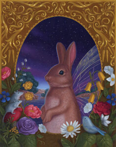Gina Matarazzo, 'Fairy Bunny Eve'