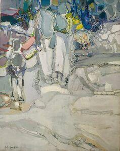 Gabriel Godard, 'Promeneurs', 1966