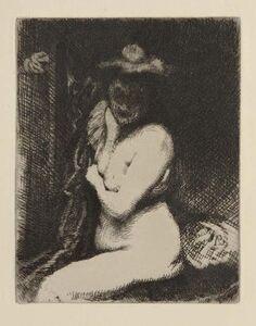 Albert Besnard, 'Etude de nu / La toilette (The Bath)', 1905