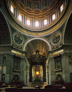 Gian Lorenzo Bernini, 'Baldacchino at St. Peter's Basilica', 1633