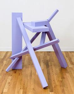 Willard Boepple, 'Untitled (Purple Lock)', 2016