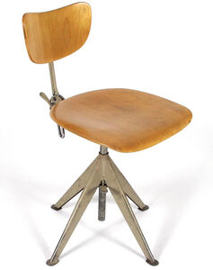 Odelberg Olson, 'Industrial Desk Chair', ca. 1950