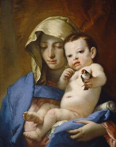 Giambattista Tiepolo, 'Madonna of the Goldfinch', ca. 1767/1770