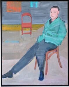 William Theophilus Brown, '$8,500 - Portrait of Lucky', 1998