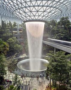 Matthew Pillsbury, 'Rain Vortex, Jewel Changi Airport', 2019