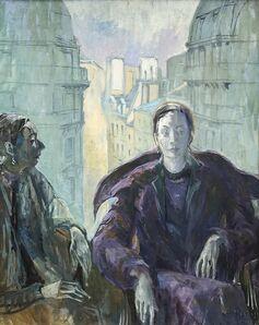 Joseph Plaskett, 'Double Portrait of Phyllis Webb', 1959