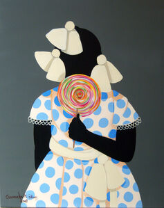 Cassandra Gillens, 'Good Girl Gets a Lollipop (the sale of this piece benefits the non-profit Zenith Community Arts Foundation)'