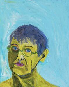 Lucy Jones, 'Green Glasses', 2018