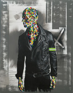 Rory Emmett, 'Hi-viz Figure I', 2019