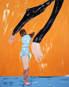 Nicola Tyson, 'Figure with Purple Sleeves', 2008