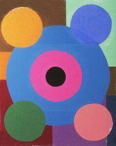 Ford Beckman, 'Modern Thoughts - Medium Blue Study', 2011