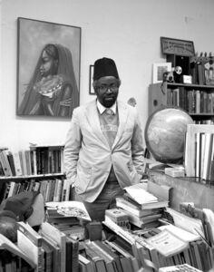 Lewis Watts, 'Luma Kanda In His Bookstore, Oakland', 1995