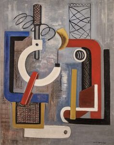 Irene Rice Pereira, 'Curves and Angles Composition', 1937
