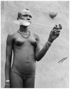 Hector Acebes, 'Unidentified Woman, Benin', 1953