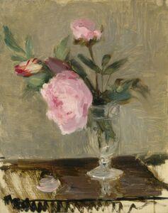 Berthe Morisot, 'Peonies', ca. 1869