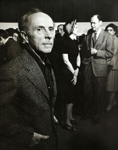 Morris Engel, 'Edward Weston and Beaumont and Nancy Newhall at Museum of Modern Art', 1947