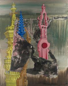 Marcel Jean, 'Cataracte d'echos', 1972