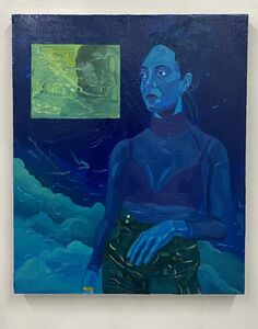 Dominic Chambers, 'Stay Blue (Kenturah in Blue)', 2020