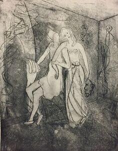 Anne Ryan (1889-1954), 'Dancers Resting', 1945