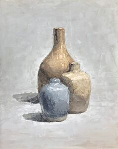 Brian Blackham, 'Three Pots', 2018