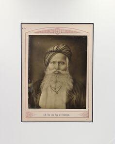 Raja Deen Dayal, 'The Late Raja of Khilchipur', ca. 1870