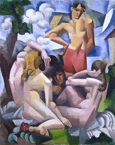 Roger de la Fresnaye, 'The Bathers', 1912