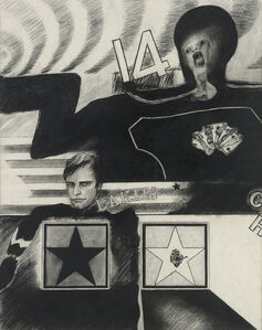 Peter Phillips, 'Star Players', 1962