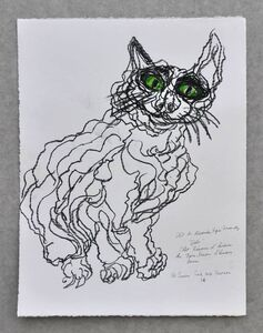 Simone Gad, 'Chat Besoin D'Amour', 2016