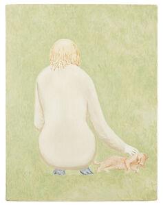 David Byrd, 'Girl and cat'