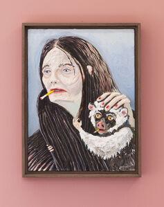 Marlene Steyn, 'Her pet pets her', 2018