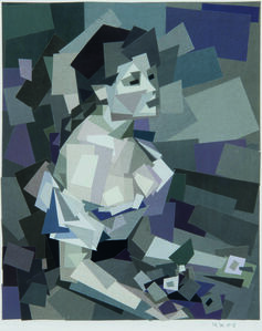 Ken Kewley, 'Young Girl with Daisies (After Renoir)', 2005