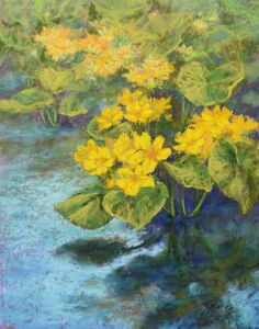 Tracey Maras, 'Yellow Water Buttercups', 2019