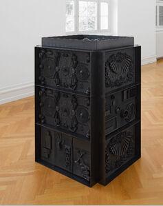 Isabelle Cornaro, 'God Box No. 2', 2013