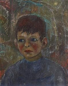 Albert Bloch, 'Bernard', 1913