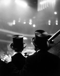 Ted Croner, 'Top Hats, Horse Show, Old Madison Square Garden', 1947-1948