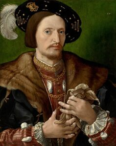 Jan Gossaert, 'Portrait of a Gentleman', ca. 1530