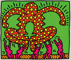 Keith Haring, 'The Fertility Suite: one plate', 1983