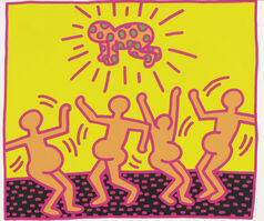 Keith Haring, 'Fertility Suite, Untitled 1', 1983