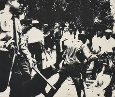 Andy Warhol, 'Birmingham Race Riot, from Ten Works by Ten Painters', 1964